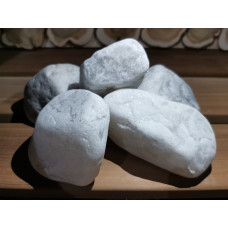 Камень для бани Жаркий лед  (ведро 10 кг)