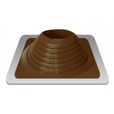 Уплотнитель кровельный №8 силикон 178-330 mm коричневый