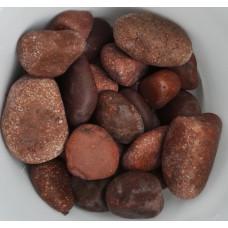 Камень для бани Яшма шлифованная (ведро 10 кг)