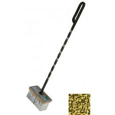 Щетка с кованой ручкой золото