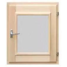 Оконный блок (форточка) стеклопакет липа 30*40