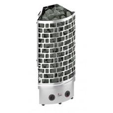 Электрическая печь SAWO ARIES 6 кВт, угловая, нерж. сталь, со встр. блоком упр.,  ARI3-60NB-CNR-P