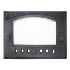 Дверца K202 топочная 375х300 мм застекленная