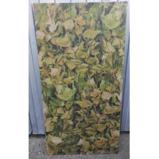 Фиброцементная плита (Фламма)березовые листья 610х1200х8