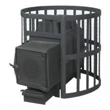 Банная печь ПароВар 16 сетка-ковка (211)