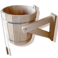 Обливное устройство 15 л с переливом липа