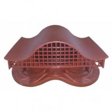 Комплект вентиль  в сборе (метал. чер.) красный