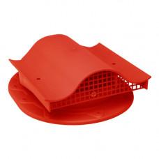 Комплект вентиль  в сборе (фальцев. прямой) красный