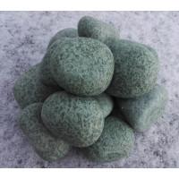 Камень для бани Жадеит шлифованный 10 кг
