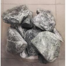 Камень для бани Змеевик галтованный 10 кг