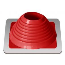 Уплотнитель кровельный №6 силикон 127-228 mm красный