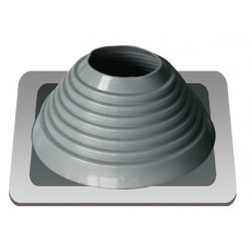 Уплотнитель кровельный №6 силикон 127-228 mm серебро
