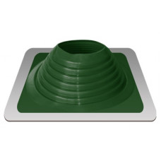 Уплотнитель кровельный №8 силикон 178-330 mm зелёный