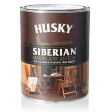 Масло для дерева HUSKY SIBERIAN 0,9л