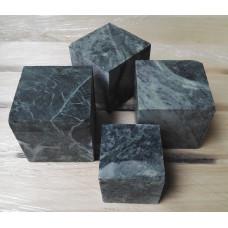 Камень для бани Серпентинит кубики10 кг