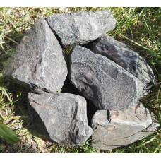 Камень для бани Порфирит обвалованный 20 кг