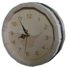 Часы с гравировкой Бочка D-300 Люкс (липа)