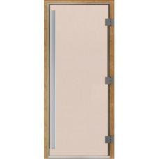 Дверь стеклянная Престиж Сатин 200х80