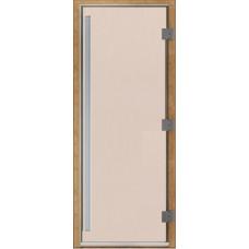 Дверь стеклянная Престиж Сатин 190х80