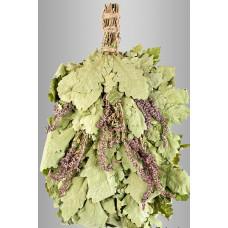 Веник из кавказского дуба сшалфеем «Экстра»  в инд. упаковке