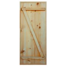 Дверь сосна 1800*700 массив