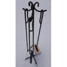 Набор каминный 3 предмета Медь (прут)