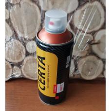 Эмаль CERTA Craquelure базовый слой 600°С медь (аэрозоль)