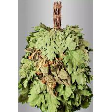 Веник из кавказского дуба с липой «Экстра»  в инд. упаковке