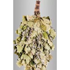 Веник из кавказского дуба с мятой  «Экстра» в инд. упаковке