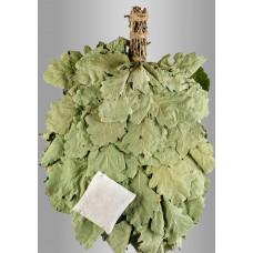 Веник из кавказского дуба с чабрецом «Экстра»  в инд. упаковке
