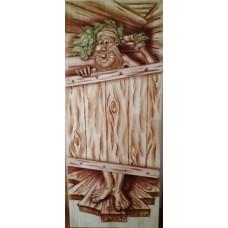 Дверь глухая на иглах Дед 1800*700, сорт А