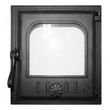 Дверца топочная K402 250х280 мм застекленная