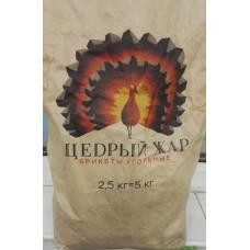 Уголь древесный пресованный 2,5 кг