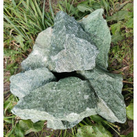 Камень для бани Жадеит колотый (Урал) 10 кг