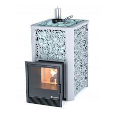 Печь банная ИзиСтим Ялта 25 хохлома Премиум