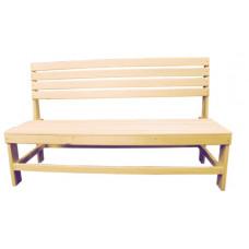 Скамейка без подлокотника (наличник) 1200*550*900