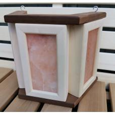 Абажур с гималайской солью, 3 плитки термоокантовка