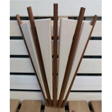Деревянный абажур для бани и сауны комбинированный Факел