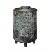 Печь для бани Атмосфера в ламелях из жадеита
