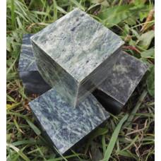 Камень для бани Нефрит кубики 10 кг