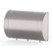 """Бак для теплообменника,  60 л, 0.5 мм, горизонтальный, нержавейка (штуцер 3/4"""")"""