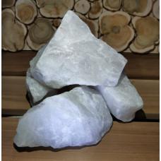 Камень для бани Жаркий лед колотый 10 кг