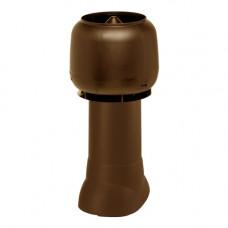 Комплект труба вытяжки в сборе  125/160/500 коричневая