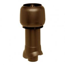 Комплект труба вытяжки в сборе 110/160/500 коричневая