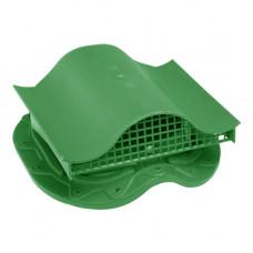 Комплект вентиль  в сборе (метал. чер.) зеленый
