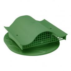 Комплект вентиль  в сборе (фальцев. прямой) зеленый