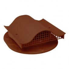 Комплект вентиль  в сборе (фальцев. прямой коричневый