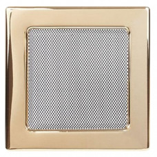 Вент.решетка 170х170 мм. золото