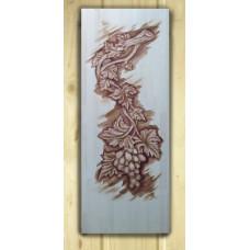 Дверь резная массив Виноградная лоза 1900*700