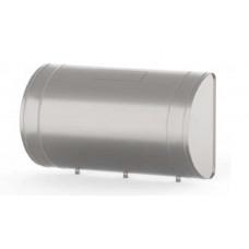 """Бак для теплообменника, 100 л, 0.8 мм, горизонтальный, нержавейка (штуцер 3/4"""")"""